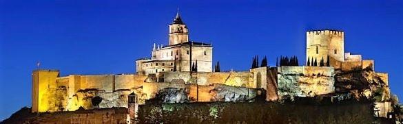 Fortaleza la Mota castle Alcala La Real Jaen