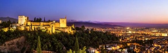 Alhambra Granada romantic locations Andalucia Spain