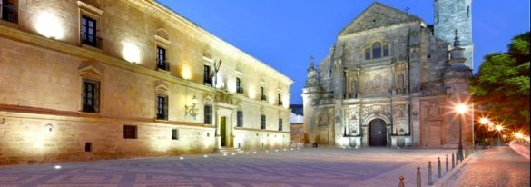 ubeda parador hotel and salvador church