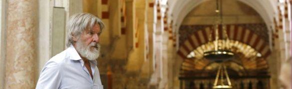 Harrison Ford on vacation in Cordoba Spain abc sevilla