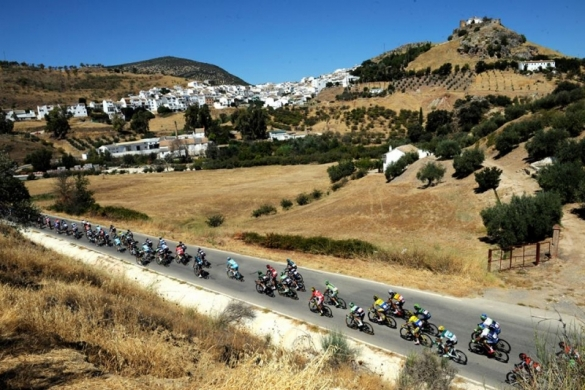 La Vuelta tour of Spain cycle race