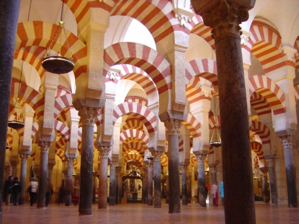 mezquita in cordoba spain