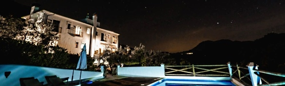 Stargazing in olive groves of Andalusia at agriturismo B&B