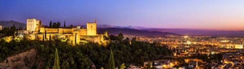 Alhambra Granada romantic locations Andalucia Spain