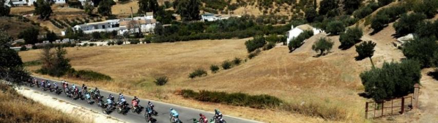 La Vuelta tour of Spain cycle race