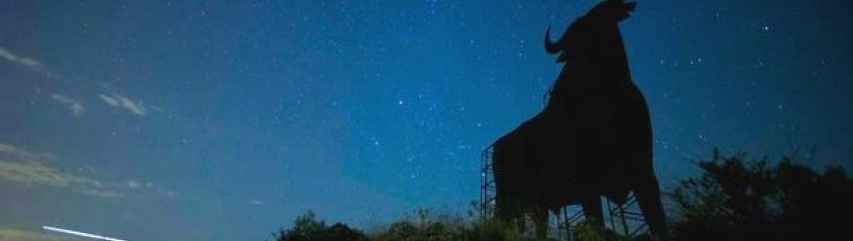 perseids meteor shower andalucia spain