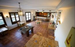 Casa Olea B&B Andalucia dining room evening meals