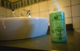 Casa Olea kleine Hotels Andalusien Öko-Toilettenartikel