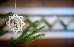 Casa Olea ländlichen Hotels Spanien Weihnachtsschmuck