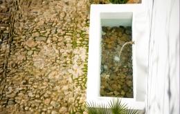 Casa Olea ländlichen Hotels Andalusien Gärten Brunnen