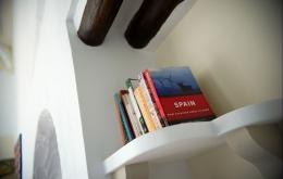 Casa Olea ländlichen Hotels Spanien Bibliothek Nachschlagewerke