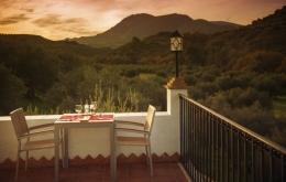 Casa Olea kleine Hotels Spanien Terrasse Sonnenuntergang