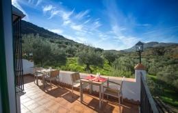 Casa Olea kleine Hotels Spanien Terrasse mit Aussicht