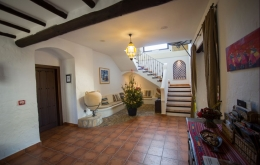 Casa Olea B&B Andalucia entrance hall christmas
