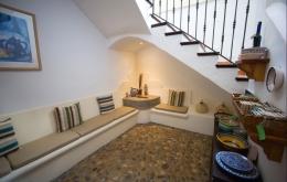 Casa Olea B & B Andalusien Eingangshalle Sitzgelegenheiten