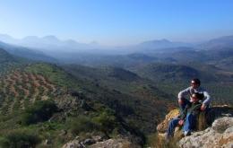 Casa Olea self-guide walks in hills Andalucia Subbetica