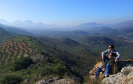 Casa Olea Selbstführer Spaziergänge in den Hügeln Andalusien Subbetica