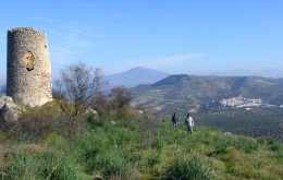 Casa Olea self-guide hiking trails from hotel Andalucia