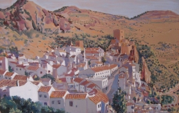 Casa Olea private villa Andalucia painting holidays groups