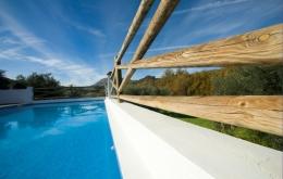 Casa Olea boutique hotels Andalucia pool detail