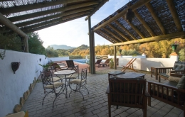 Casa Olea boutique hotels Andalucia pergola seating