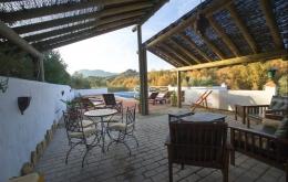 Casa Olea boutique hotels Andalucia pergola seating