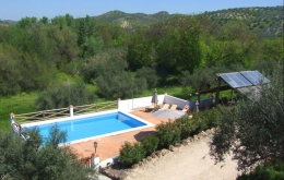Casa Olea small hotels Spain gardens with pool
