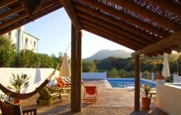 Casa Olea Boutique Hotels Andalusien Poolblick