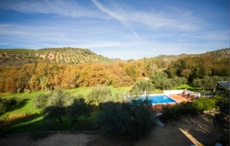 Casa Olea boutique hotels Andalucia with pool view