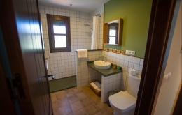 Casa Olea small hotels Andalucia walk-in shower
