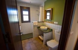 Casa Olea kleine Hotels Andalusien begehbare Dusche