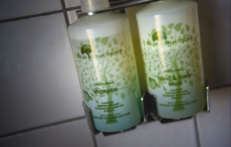 Casa Olea eco hotels Andalucia Spain toiletries