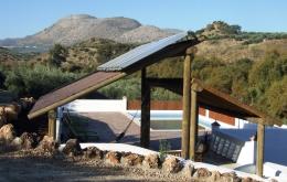 El agua caliente y suelo radiante (por todo la casa) proviene al 100% de Medidas Ecológicas.