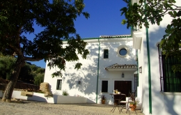 "Casa Olea is a traditional ""cortijo"" (farmhouse) but with the style and home comforts of a ""boutique b&b""."