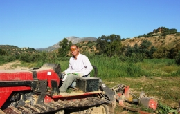 Our good friend and local farmer Juan. Let us know if you're interested in helping us pick the olives too!