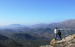 Hike to the top of the hill behind Casa Olea for fabulous views over the Sierras Subbéticas Natural Park.
