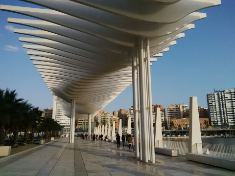 Pompidou centre malaga opening soon spain s top cultural city break in 2015 casa olea - Casa plus malaga ...
